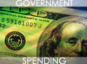 Government spending graphic